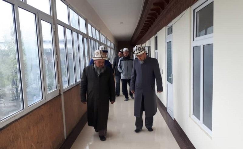 Ошто «Абдыжапар» Ислам институтунун кышка карата даярдыгы текшерилди