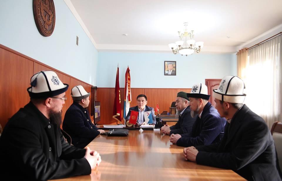 Мэр Оша принял членов Совета улемов Кыргызстана