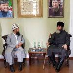 Муфтий мусульман Кыргызстана и Верховный муфтий Чеченской Республики обсудили дальнейшее сотрудничество